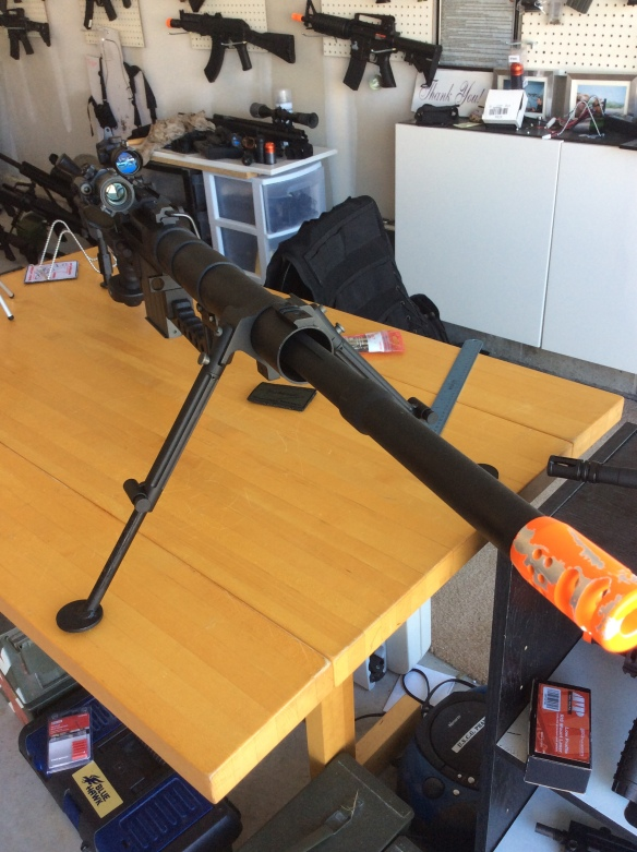 M200 Review   Airsoft action field